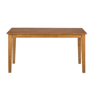 Wallis Wooden Rectangular Solid Wood Dining Table