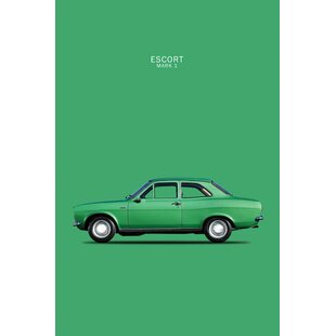 '1968 Ford Escort Twin Cam Mark I' Graphic Art Print on Canvas ByEast Urban Home