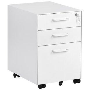 Mcbroom 3 Drawer Filing Cabinet By Rebrilliant