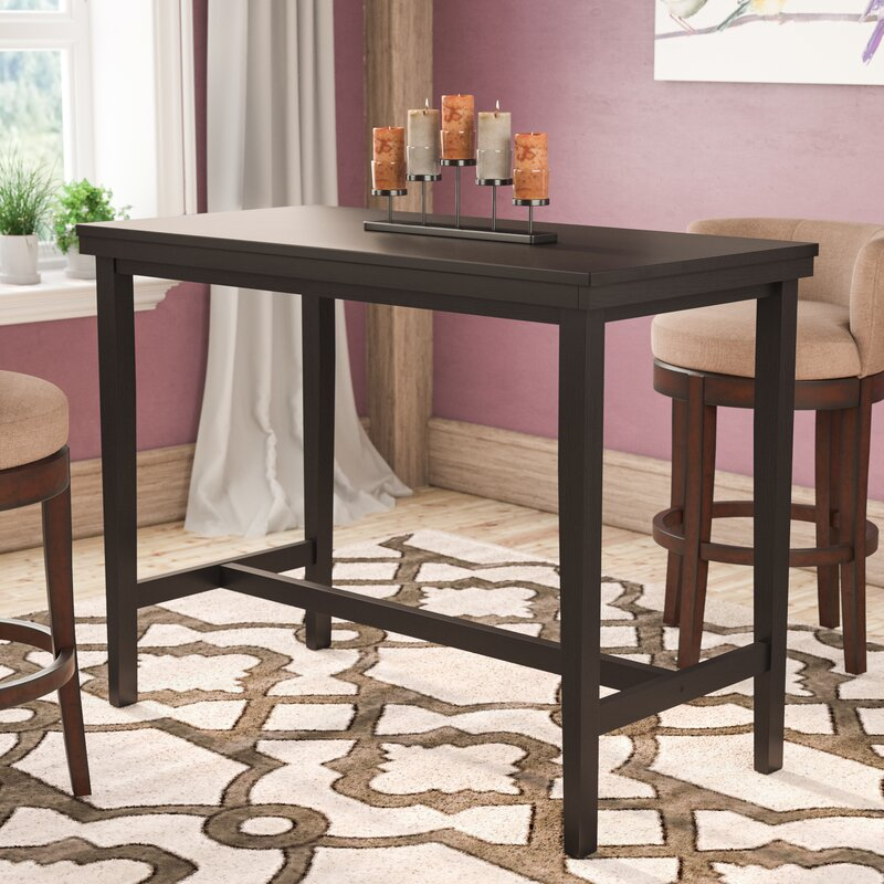 White Cane Outdoor Furniture, Andover Mills Justine Counter Height Dining Table Reviews Wayfair