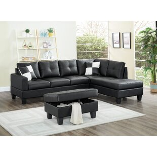 Winston Porter Kahoka Sectional Sofa With..