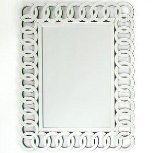 House of Hampton Delicia Rectangle Beveled Wall Mirror