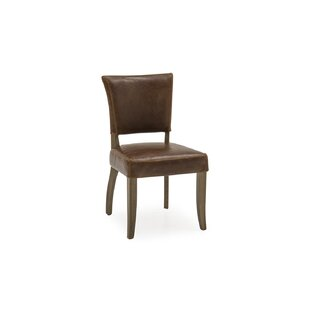 Ravenwood Genuine Leather Upholstered Dining Chair (Set Of 2) By Marlow Home Co.