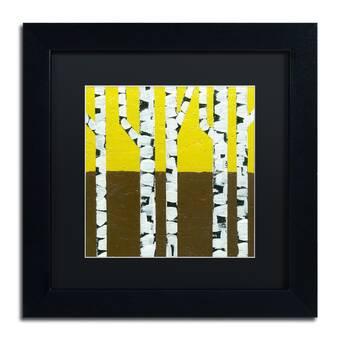 Trademark Art Zendoodle Framed Graphic Art On Canvas Wayfair