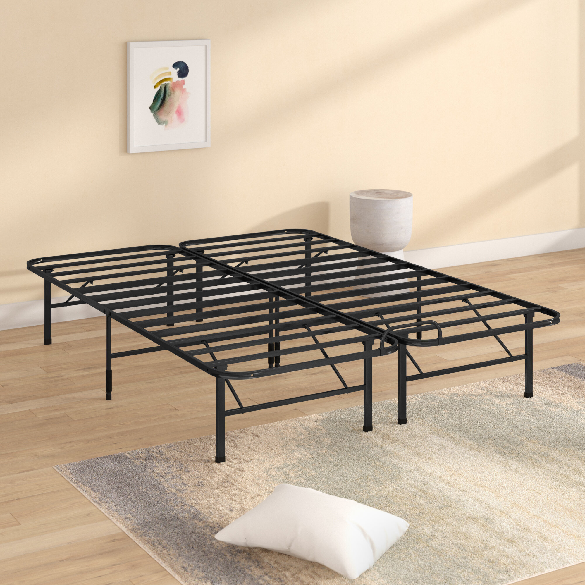 Alwyn Home Smart Base Select Stopper Bed Frame U0026 Reviews | Wayfair