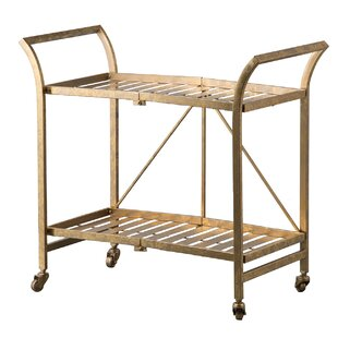 Orren Ellis Bieber Cleo Bar Cart