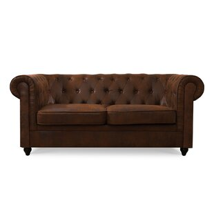 Ibrahim 2 Seater Chesterfield Loveseat By Williston Forge
