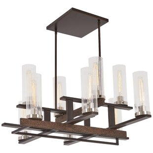 Williston Forge Croxton 10-Light Shaded Chandelier