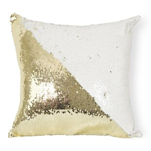 Pike Reversible Sequin Pillow Cover