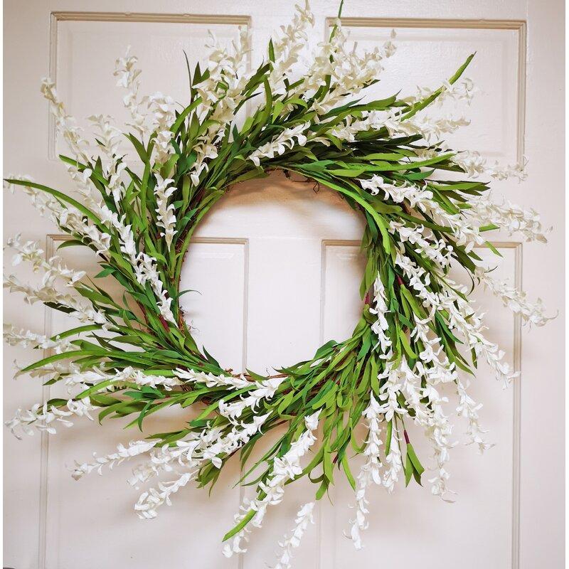 Gracie Oaks 24 Foam Silk Wreath Reviews Wayfair