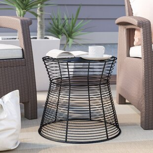 Derose Iron Wire Stool or Side Table
