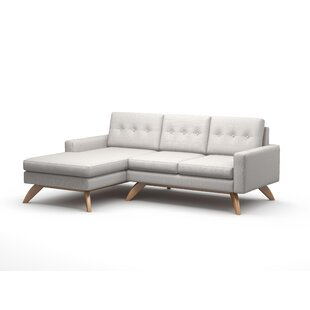 Luna 90 Sofa With Chaise by TrueModern