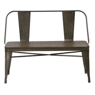 Isamar Metal Bench by Williston Forge