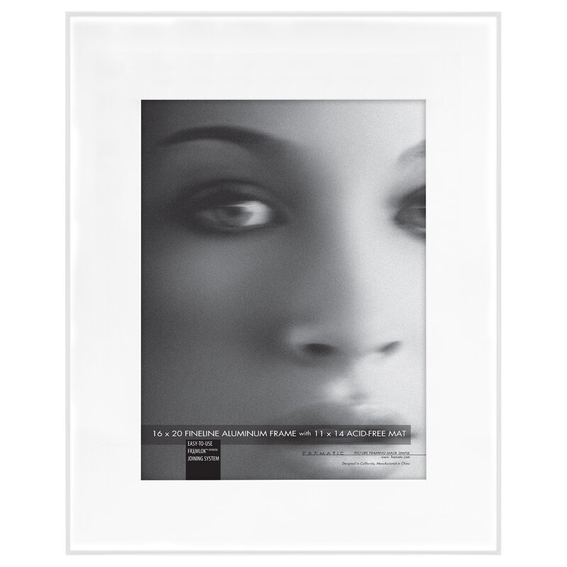 Framatic Fineline Mat Picture Frame | Wayfair