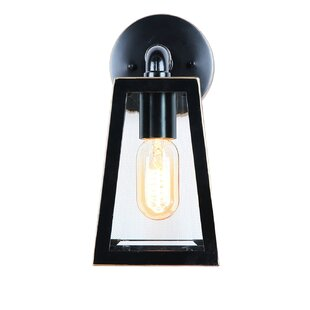 Adrien Outdoor Wall Lantern by 17 Stories