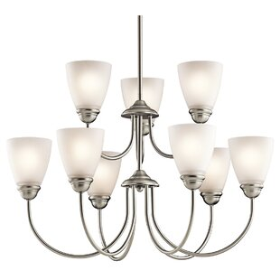 Graybeal 9-Light Shaded Chandelier by Alcott Hill