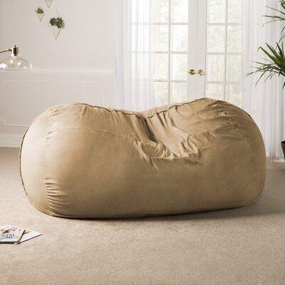 Bean Bag Sofa Laude Run Upholstery Camel