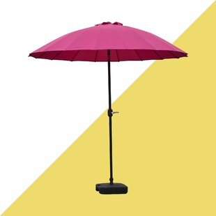 Josue 2.5m Traditional Parasol By Hashtag Home