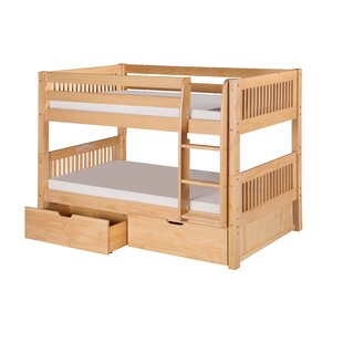 Oakwood Twin Wood Panel Bed