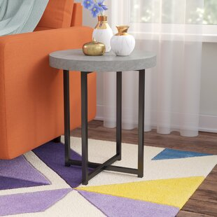 Compare Quan End Table By Wrought Studio