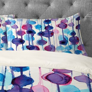 CMYKaren Abstract Watercolor Pillowcase