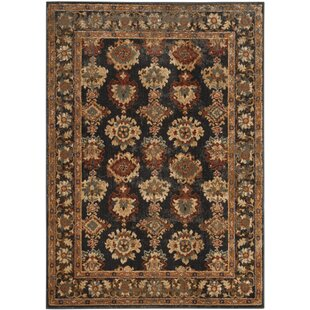 Look for LoweBrown/Black Area Rug ByCharlton Home