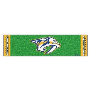 NHL - Nashville Predators Putting Green Doormat ByFANMATS