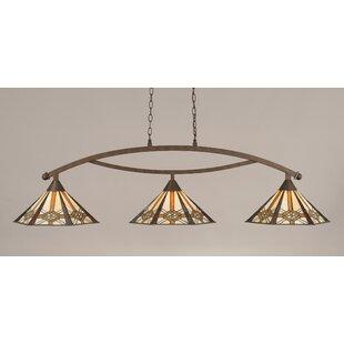 Astoria Grand Austinburg 3-Light Billiard Light