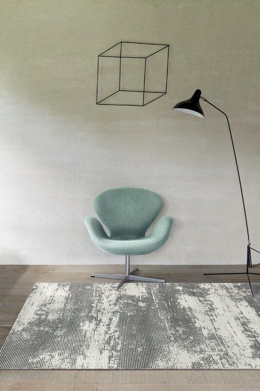 home loft concept wollteppich chelsea in grau. Black Bedroom Furniture Sets. Home Design Ideas