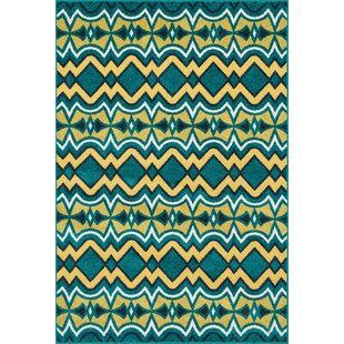 Winifred Blue Indoor/Outdoor Area Rug