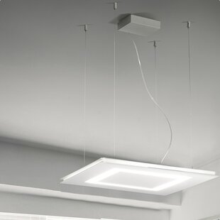 Flat 2-Light LED Chandelier by ZANEEN design