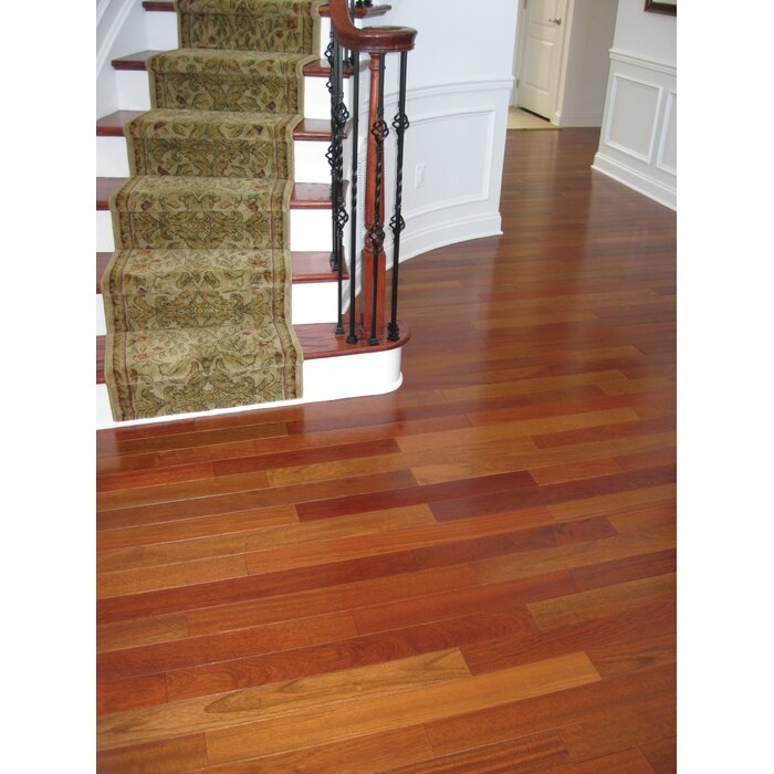 Solid Exotic Cherry 2 5 Thick X 3 8 Wide Varying Length Hardwood Flooring
