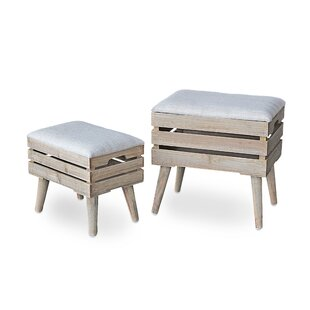 Mardell 2 Piece Dressing Table Stool Set By Brambly Cottage