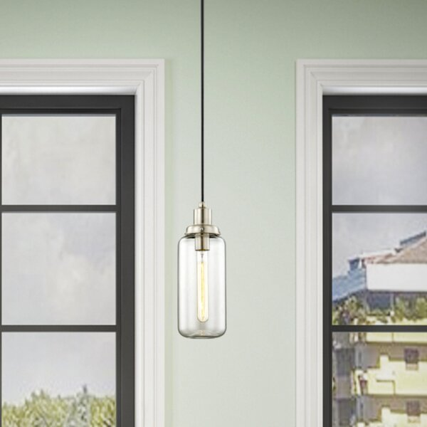 Scalf 1 - Light Single Bell Pendant by Wrought Studio™