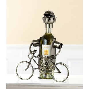 Courtright 1 Bottle Tabletop Wine Rack By Happy Larry
