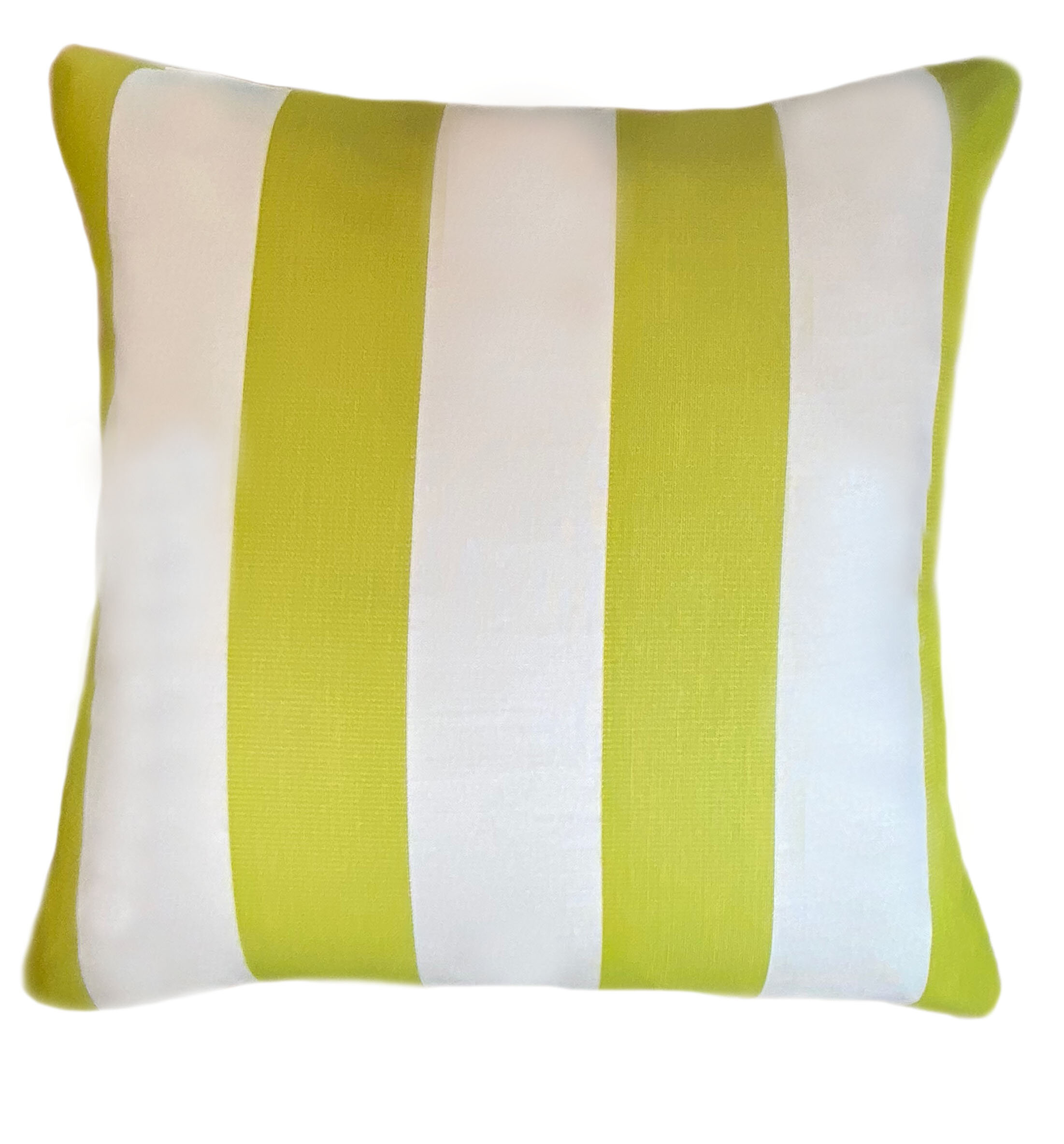 The Fabric Shoppe Beachside Sunbrella Indoor Outdoor Striped Throw Pillow Perigold