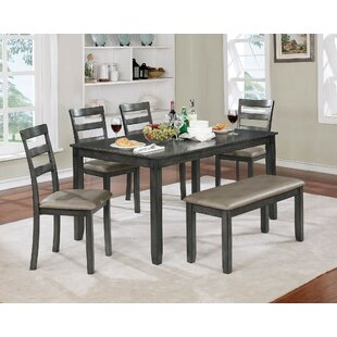 Inola 6 Piece Extendable Dining Set Fleur De Lis Living