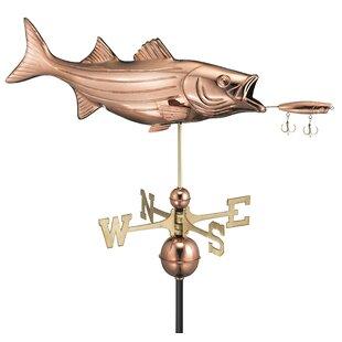 Broomsedge Bass Weathervane Image