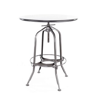 Desrochers Adjustable Pub Table Williston Forge