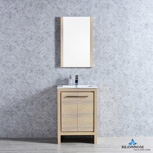 Artemis 23 Single Bathroom Vanity Set with Mirror by Ivy Bronx