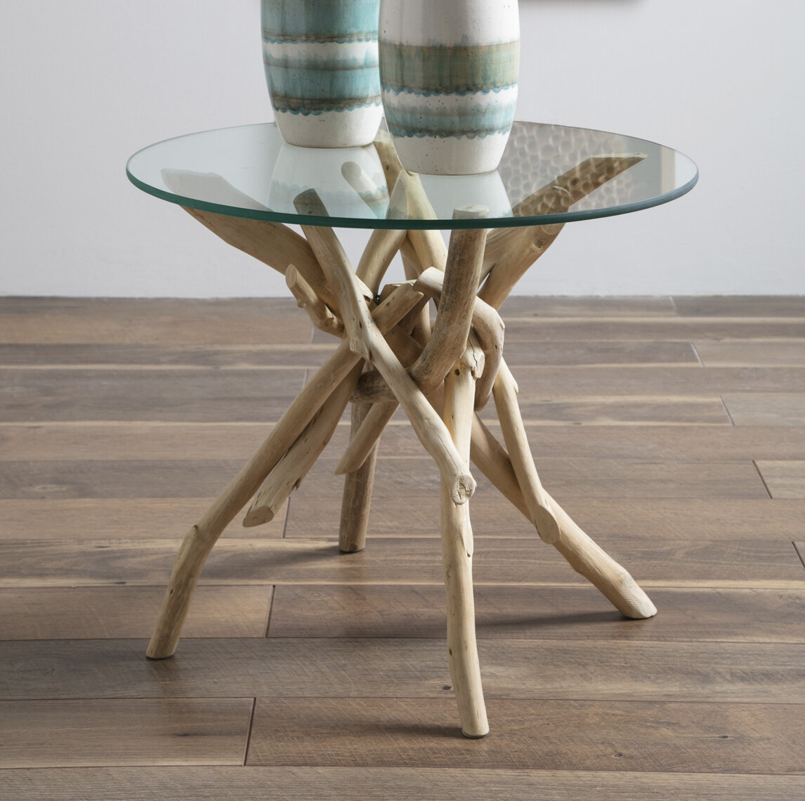 Picture of: Rosecliff Heights Jered Driftwood End Table Reviews
