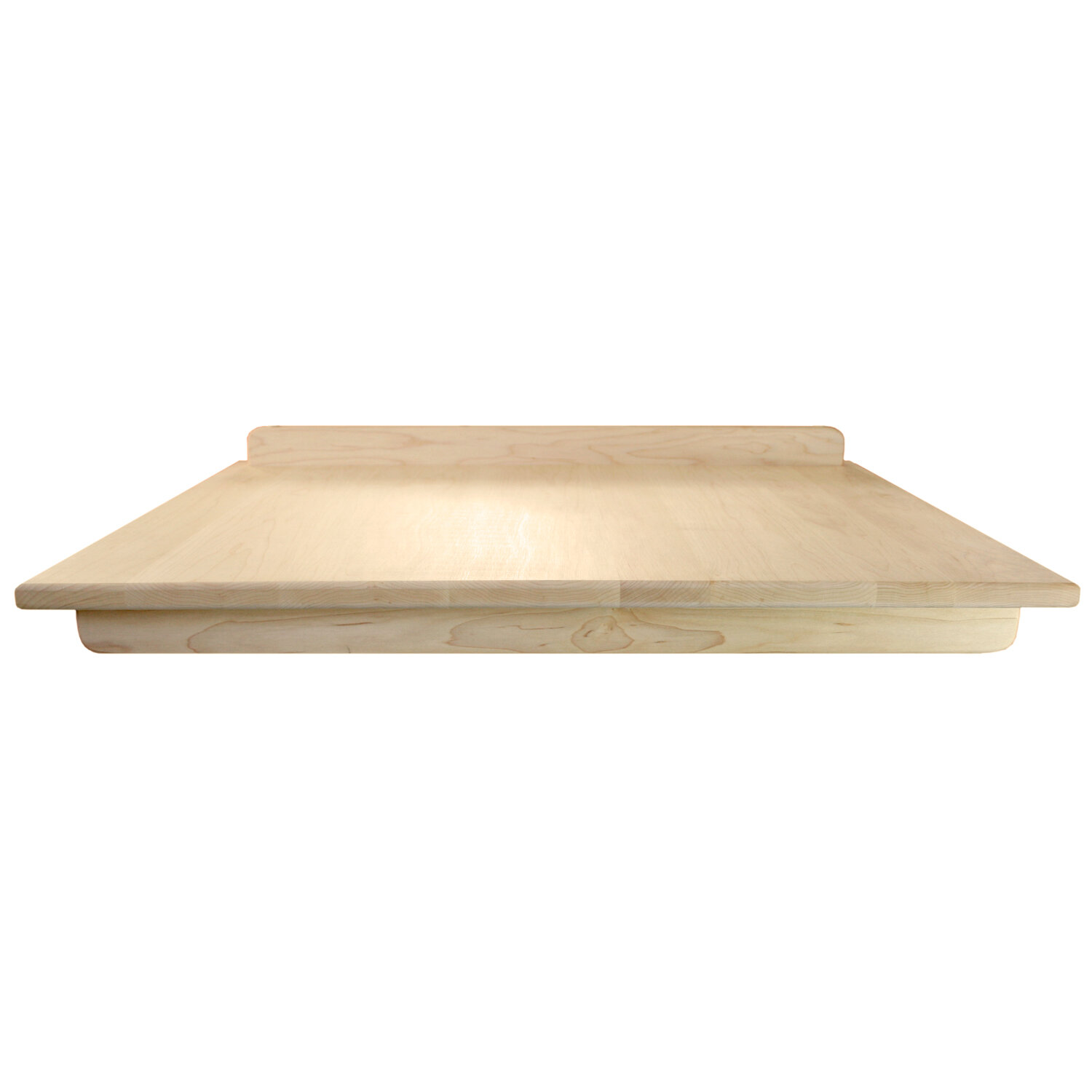Large hardwood cutting kneading pastry board w//stability edge FREE SHIPPING
