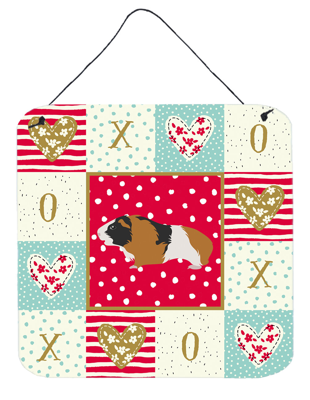 The Holiday Aisle Rex Guinea Pig Love Hanging Prints Wall Décor Wayfair