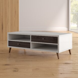 Brightwood Contemporary Coffee Table Mercury Row
