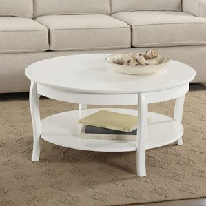 Attractive Alberts Round Coffee Table