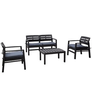 Ayush 4 Seater Conversation Set By Sol 72 Outdoor