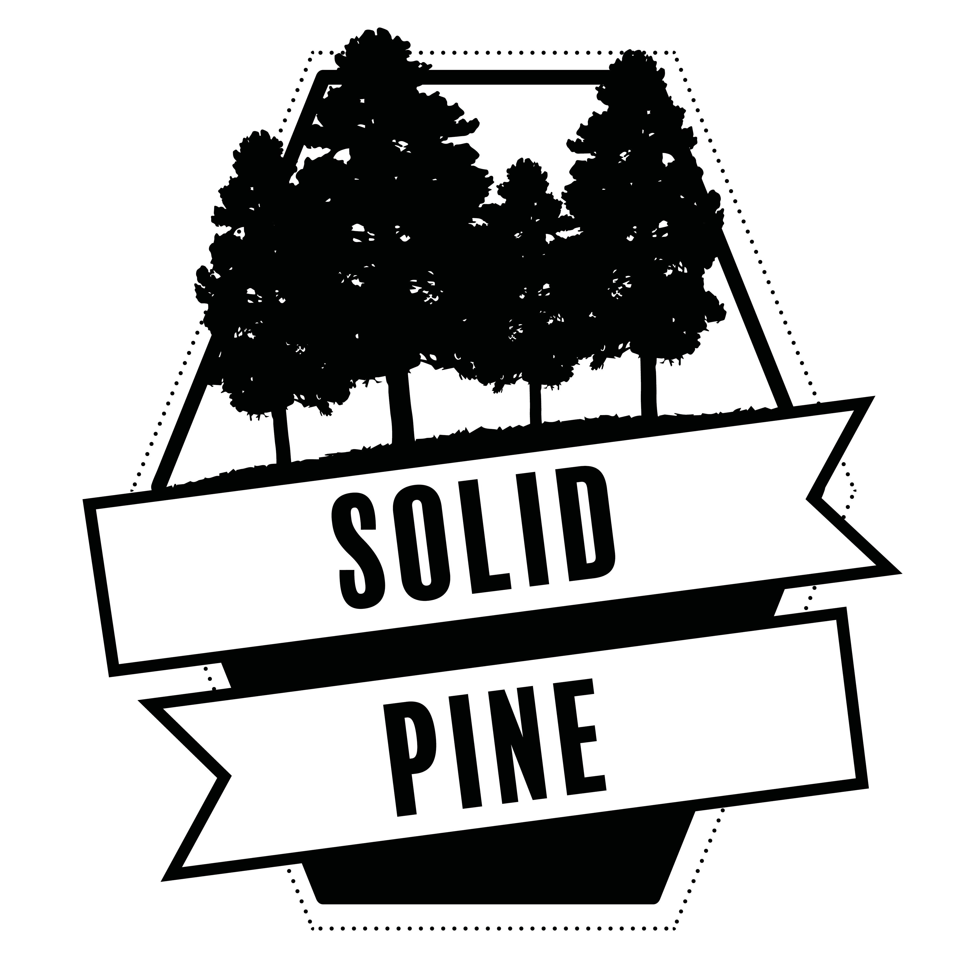 Solid Brazilian Pine Wood