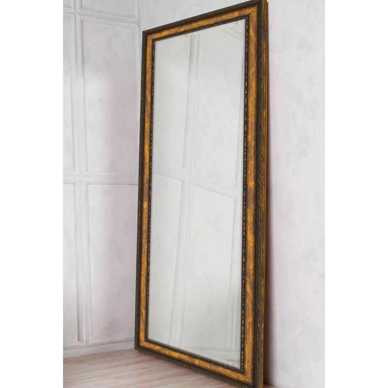 Niangua Traditional Beveled Overmantel Mirror