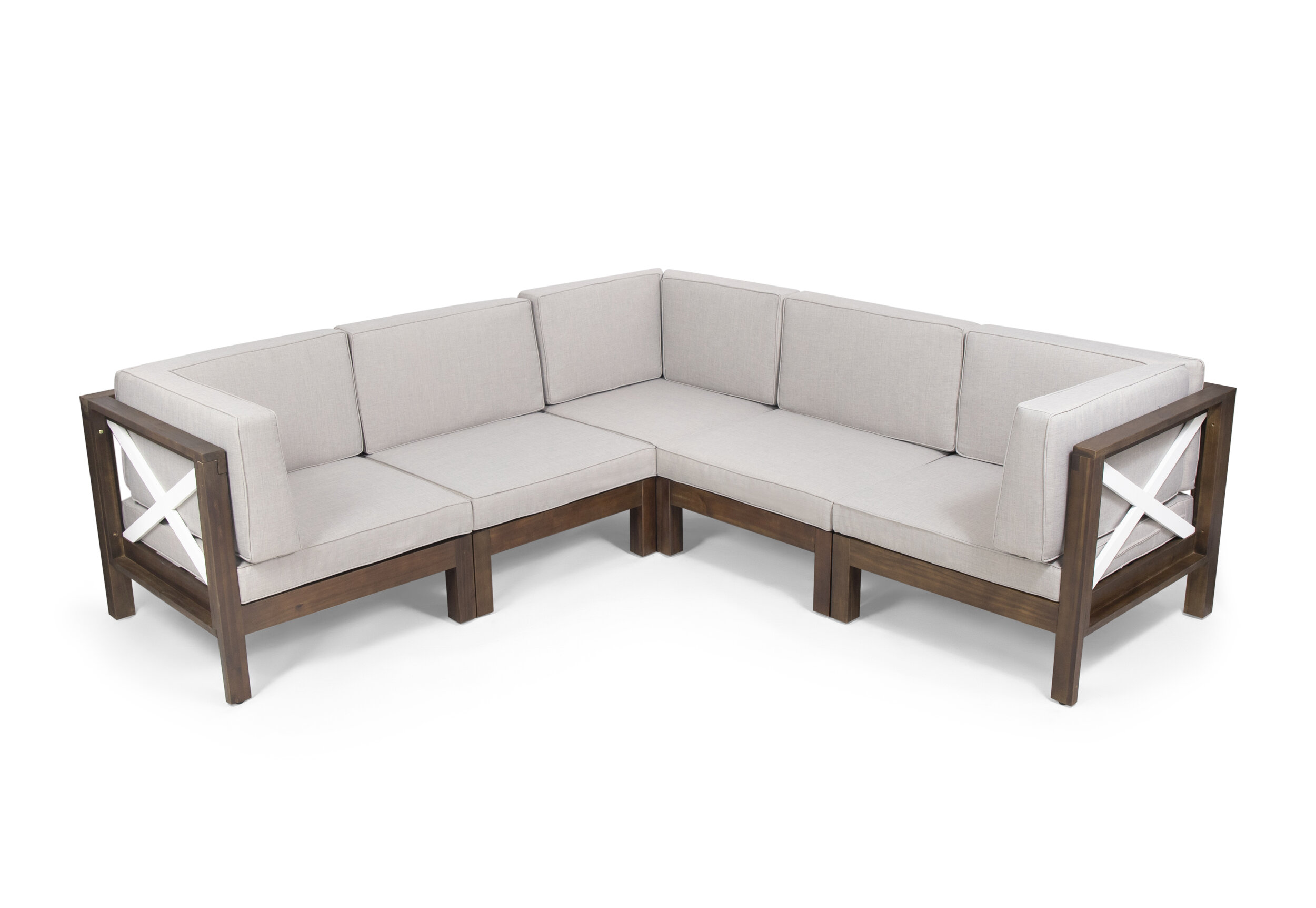 Augus Outdoor Patio Sectional With