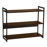 3 Tier Wood Bookcase Wayfair